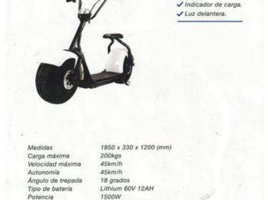 SCOOTER ELECTRICO FUTUR E FX-03