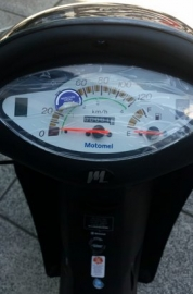 Motomel Blitz Full One 110 Rayo New Con Alarma