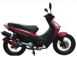 Brava Nevada 125 SP Tunning