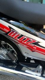 Motomel Blitz Full One 110 Rayo New Con Alarma